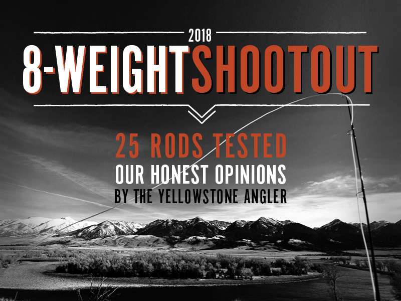 2018 8-weight shootout best fly rod test
