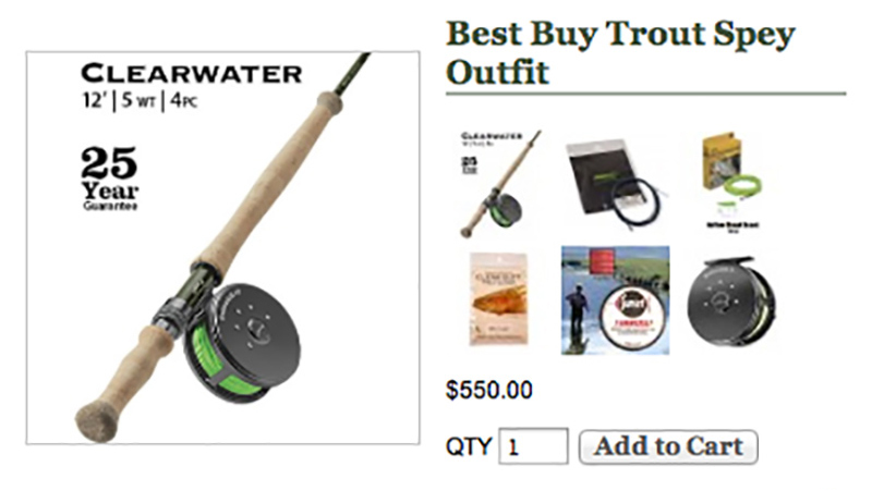 trout spey best buy best inexpensive trout spey outfit