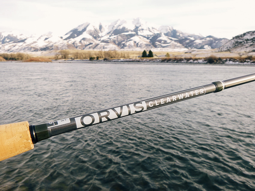 """Orvis CLEARWATER 8'6""""#4"""