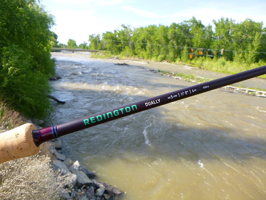 Redington Dually switch rod