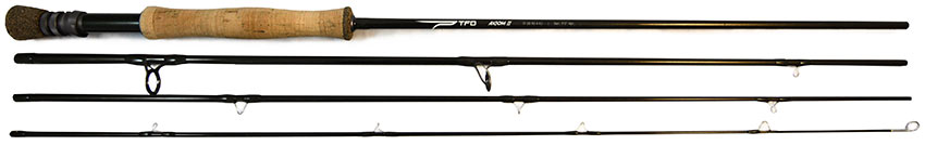 TFO Axiom II saltwater fly rod