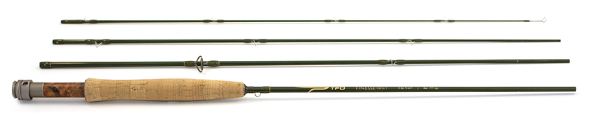 """Temple Fork Outfitters FINESSE TROUT 7'9""""#4"""