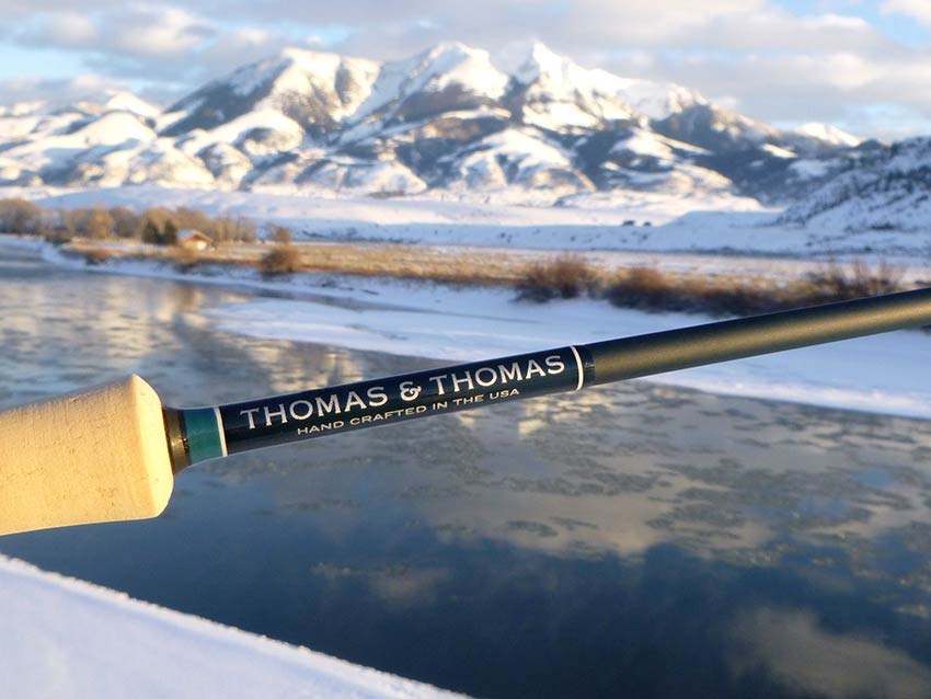 Thomas and Thomas Exocett fly rod